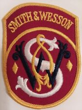 Smith & Wesson Gun Pistol Apparel Shoulder Patch S&W New *