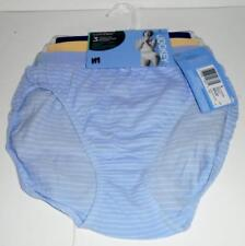 JOCKEY Ladies Briefs 3 Pair Comfies Seamfree Cotton French Cut Panties Size 6