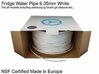 "1/4"" Fridge Filter Tubing Water Pipe Tubing fits LG Samsung GE Bosch Daewoo +all"