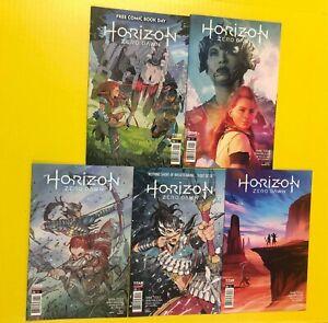 HORIZON ZERO DAWN # 0 1 2 3 4 set of 5 TITAN COMICS 2020 FCBD