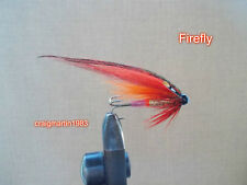 3 SALMON TUBE FLIES (ALUMINIUM) - FIREFLY