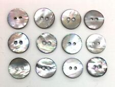 12 Button Set Genuine Shell Tailor Buttons
