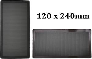 120mm x 2 PC Computer Case Fan Dust Filter Screen Dustproof Case Cover with Fine