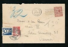 AUSTRIA 1928 POSTAGE DUE from GB