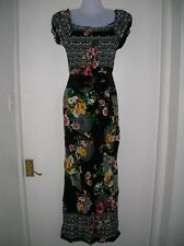 NEW W/TAG LADIES L/XL 12 14 16 SUMMER MAXI DRESS HOLIDAY CRUISE PARTY NIGHT OUT