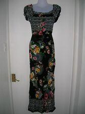 Nuevo Con Etiqueta Damas L/XL 12 14 16 Vestido Maxi del Verano Vacaciones Crucero Fiesta Noche