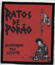 RATOS DE PORAO PATCH / SPEED-THRASH-BLACK-DEATH METAL