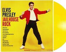 "Elvis Presley ""Jailhouse Rock"" NEW & SEALED 33RPM 180g Yellow Vinyl LP (2019)"