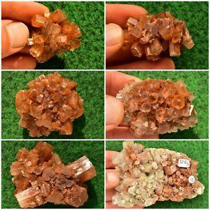 Aragonite Sputnik Crystal✔ Calcite Gemstone Palm Stone (12 To Pick From) UK Buy✔