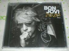 Jon Bon Jovi Signed 2020 New Cd Silver Auto Autograph Coa Sold Out Jersey B