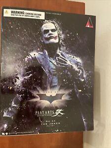 Square Enix Play Arts Kai The Dark Knight Trilogy: #04 The Joker Figure New