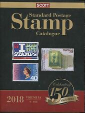 NEW 2018 SCOTT STANDARD POSTAGE STAMP CATALOGUE VOLUME 5 a-b (2 volumes) N-SAM