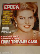 EPOCA=1982/1666=INGRID BERGMAN THE LEGEND=CARLA FRACCI=PATRICK TAMBAY FERRARI=