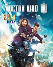 *NEW* Dr Doctor Who Hard Cover 2014 Desk Diary 19cm x 23.5cm