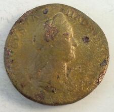 SABINE FEMME D'HADRIEN (117-138) SESTERCE ROME