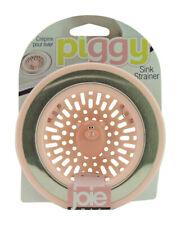 Joie  Piggy  Pink/Silver  Sink Strainer
