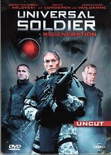Universal Soldier , Regeneration , Steelbook , 100% uncut , DVD Region2