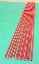 """Lot of 12 Fiberglass Tubes .265"""" X .178"""" 25 3/4"""" Long - Kite Spars, Arrows, etc."""