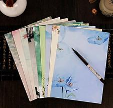 IMagicoo 64 Vintage Retro Design Writing Stationery Paper Pad Letter Set, 8 Diff