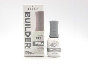 Orly Gel FX BUILDER IN A BOTTLE .6oz  Soak-Off sculpting gel for nail extension