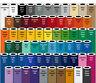 "5 Rolls - 24"" X 10ft Oracal 651 Sign Cutting Vinyl Bundle - *63 Color Choices*"