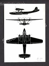 Dornier Werke Munchen Pressestelle DO 24 Rescue Flying Boat Photograph 5x7