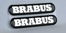 Adesivi 3D con logo Brabus a cupola per Mercedes-Benz, Smart 450 451 453 454