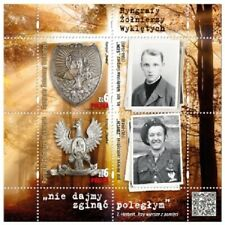 Poland / Polen 2020 - Fi MS 229** Gorgets of Cursed Soldiers