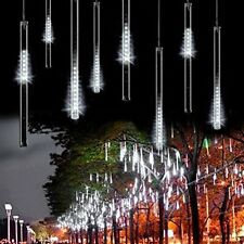 US 8 Falling Rain Drop/icicle Snow LED String Light Xmas Tree Party Decor gifts