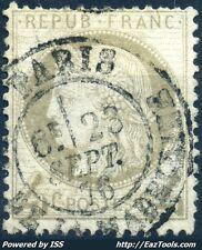 FRANCE CERES N° 52 CACHET DE PARIS 23/09/1876 COTE 55€