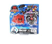 TURNING MECARD W DESPHER Black Transformer Transform CAR Robot Toy Korean_NV