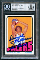 Darnell Hillman #236 signed autograph 1972-73 Topps Basketball Card BAS Slabbed