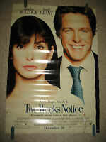 One Sheet Movie Poster Original Rolled Two Weeks Notice Starring Bullock #216
