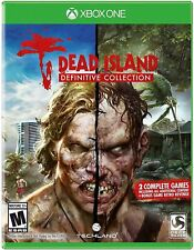 DEAD ISLAND DEFINITIVE COLLECTION XBOX ONE NEW! EPIC ZOMBIE SLAYER, WALKING DEAD