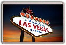Las Vegas Nevada Fridge Magnet 02