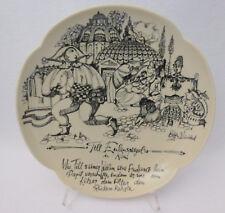 Bjorn Wiinblad Plate Rosenthal Studio Line POPE Vatican Depictions Vintage RARE