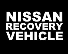 NISSAN Recovery Vinyl Decal Sticker JDM Ute Car 4x4  Funny Jeep PATROL Toyota