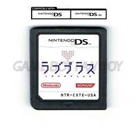 Love Plus ENGLISH Translation Nintendo DS cartridge ラブプラス Rabu Purasu LovePlus