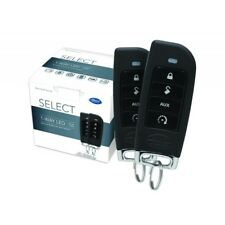 NEW AutoMate 5104A 1-Way Car Alarm & Remote Start System w/ Two 4-Button Remotes
