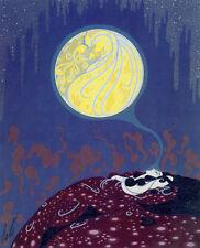 Earth's Dream 22x30 Art Deco Print by Erte