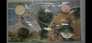 1982 ROYAL CANADIAN MINT PROOF LIKE SET OF 6 COINS - UNCIRCULATED