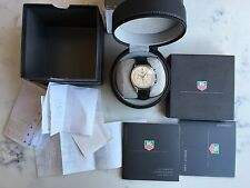 Mint Tag Heuer Carrera #CS3110, L/Edition Chronograph SS Men's Watch, BOX & DOCS