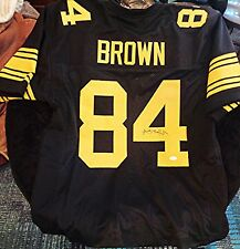 Antonio Brown Autographed Auto Signed Black Steelers Jersey JSA COA  Signature be7a3986b