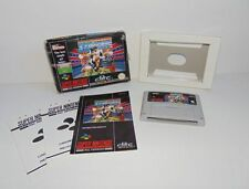 Football Nintendo SNES Video Games with Manual