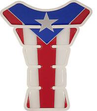 Puerto Rico Waving Flag Gel Motorcycle Tank pad tankpad protector