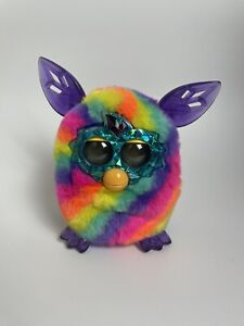 Furby Boom Rainbow Crystal Series 2012 Hasbro Electronic Talking Toy *Working
