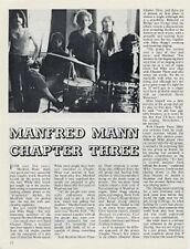 Manfred Mann Chapter Three Beat Instm. Clipping CAT