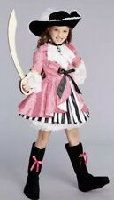 NEW Chasing Fireflies Pink Pirate Costume For Girls, Size 12