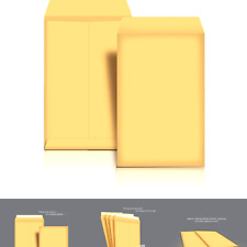 Amazon Basics Catalog Mailing Envelopes Peel Amp Seal 6x9 Inch Brown Kraft