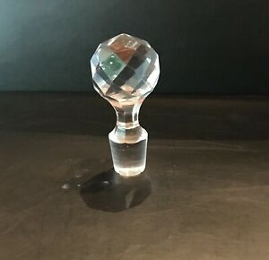 Ancien bouchon pour carafe en cristal de Baccarat, ST Louis, N 39